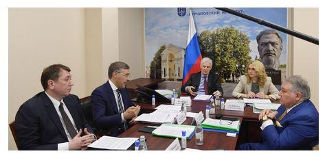 Заседание Совета по реализации Федеральной научно-технической программы развития генетических технологий на 2019-2027 годы Фото: Министерство Образования РФ